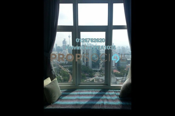 For Rent Serviced Residence at Dua Sentral, Brickfields Freehold Fully Furnished 2R/2B 3.5k