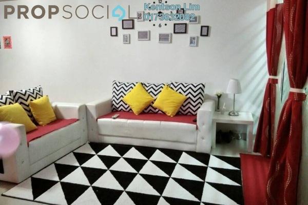 For Sale Apartment at Bukit Segambut, Segambut Freehold Semi Furnished 3R/2B 398k