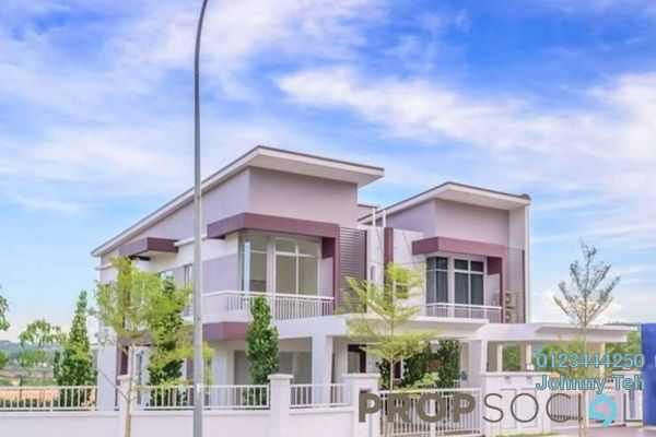 For Sale Terrace at Davina, Nilai Impian Freehold Semi Furnished 4R/4B 512k