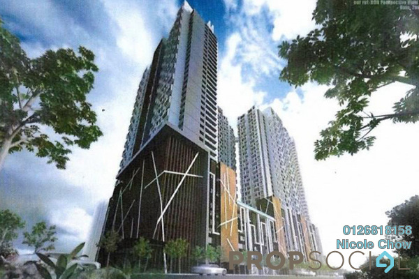 For Sale Condominium at PJS 2, PJ South Leasehold Semi Furnished 3R/2B 501k