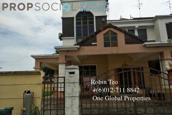 For Sale Terrace at Taman Johor Jaya, Johor Bahru Freehold Semi Furnished 4R/3B 680k