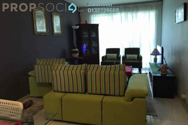 For Sale Condominium at SD Apartments, Bandar Sri Damansara Freehold Semi Furnished 3R/2B 330k