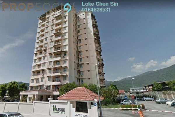 For Rent Condominium at Hillside Garden, Tanjung Bungah Freehold Semi Furnished 3R/2B 1.5k