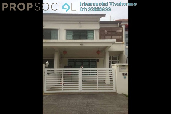 For Sale Terrace at Section 36, Shah Alam Freehold Semi Furnished 4R/5B 1.22m
