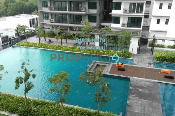 For Rent Condominium at Epic Residence, Bandar Bukit Puchong Freehold Semi Furnished 1R/1B 1k