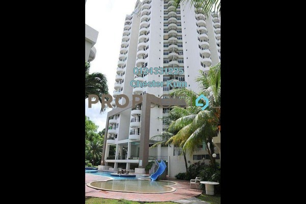 For Rent Apartment at Leader Garden, Tanjung Bungah Freehold Fully Furnished 3R/2B 1.4k