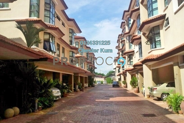 For Rent Townhouse at Tanjung Villa, Tanjung Bungah Freehold Fully Furnished 3R/2B 1.5k