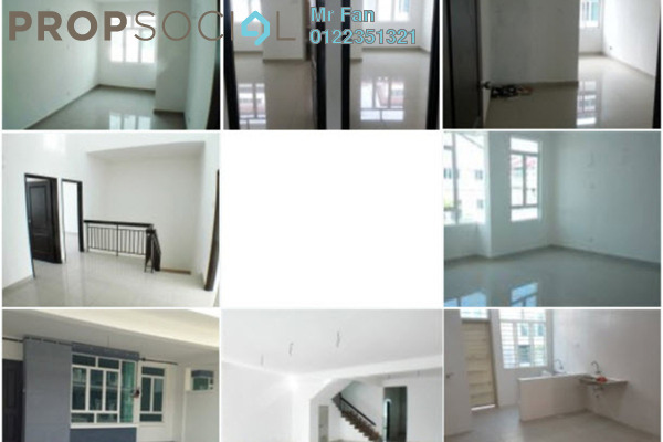 For Rent Terrace at Aster, Bandar Puchong Utama Freehold Unfurnished 4R/3B 1.5k