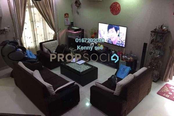 For Sale Terrace at Taman Sungai Sering, Batu 9 Cheras Freehold Semi Furnished 6R/5B 1.53m