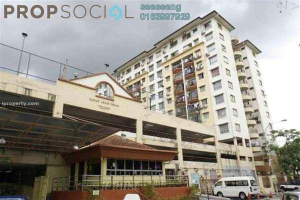 For Sale Condominium at Taman Abadi Indah, Taman Desa Leasehold Semi Furnished 3R/2B 300k
