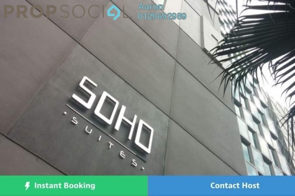 For Sale Serviced Residence at Soho Suites, KLCC Freehold Fully Furnished 2R/2B 986k