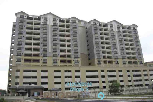 For Rent Condominium at Persanda 3 Apartment, Shah Alam Freehold Fully Furnished 3R/2B 1.4k