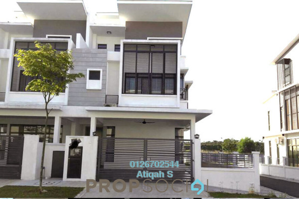 For Sale Townhouse at Emerald, Alam Impian Freehold Semi Furnished 5R/6B 1.25m