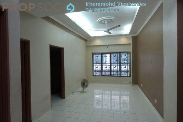 For Rent Apartment at Dataran Otomobil, Shah Alam Freehold Semi Furnished 3R/2B 1.1k