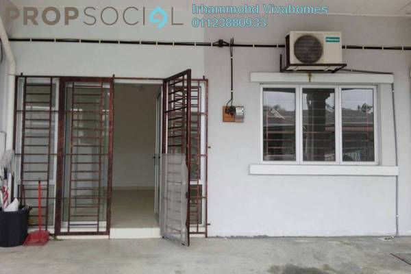 For Rent Terrace at Section 30, Shah Alam Freehold Unfurnished 4R/2B 1.1k