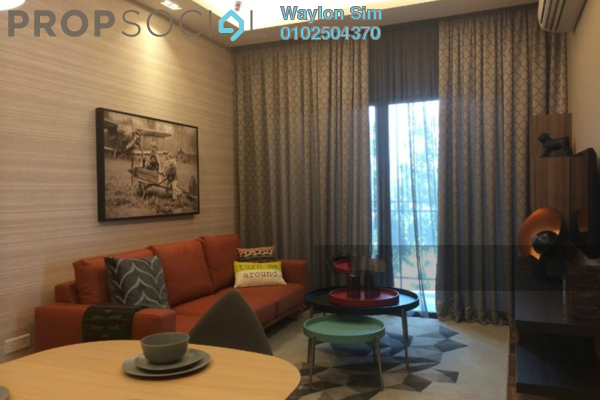 For Rent Condominium at Residency V, Old Klang Road Freehold Fully Furnished 2R/2B 1.9k