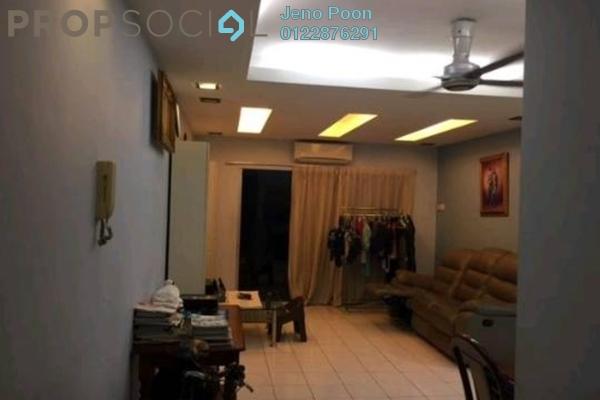 For Sale Condominium at Endah Ria, Sri Petaling Freehold Semi Furnished 3R/2B 360k