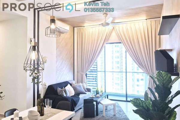 For Rent Condominium at The Petalz, Old Klang Road Freehold Fully Furnished 3R/2B 3k