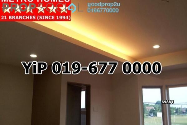 For Sale Terrace at Taman Sentosa, Klang Freehold Semi Furnished 4R/3B 395k