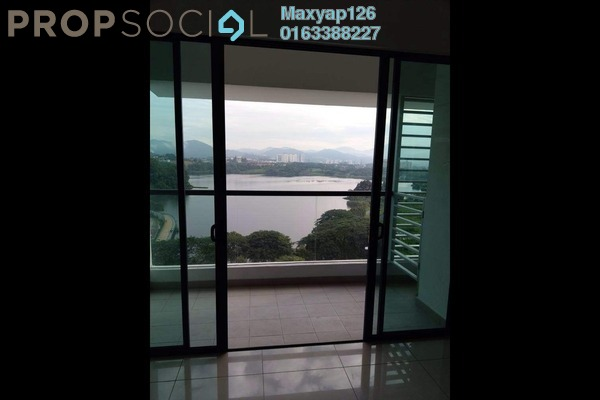 For Rent Condominium at Fortune Perdana Lakeside, Kepong Freehold Semi Furnished 3R/2B 1.5k