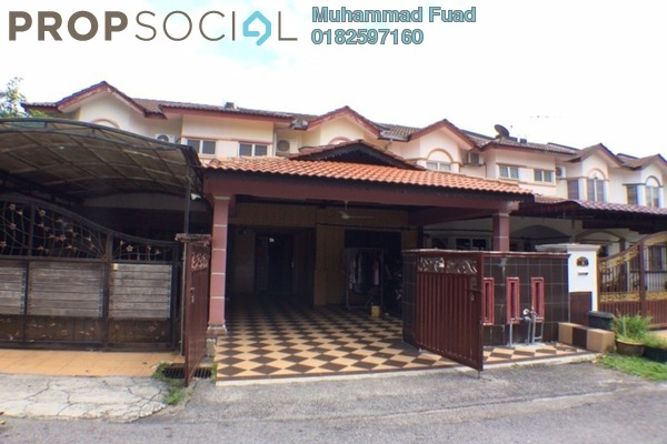 For Sale Terrace at Taman Kasih, Kajang Freehold Semi Furnished 4R/3B 500k