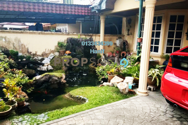 For Sale Terrace at Section 6, Shah Alam Freehold Semi Furnished 3R/3B 620k