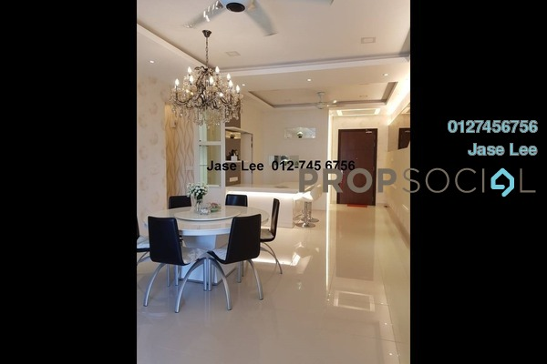For Sale Condominium at KM1, Bukit Jalil Freehold Fully Furnished 3R/3B 1.15m