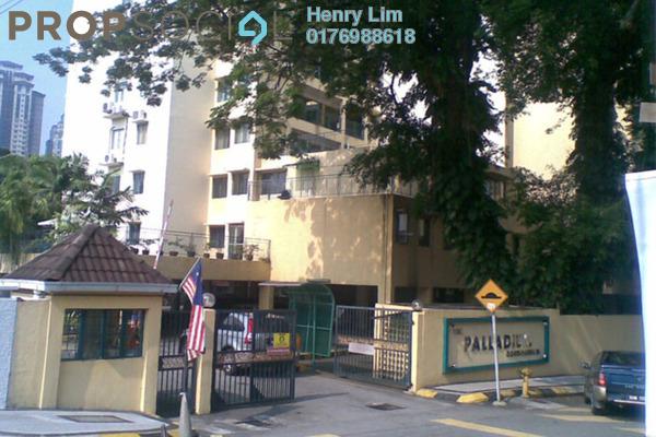 For Rent Condominium at The Palladium, Keramat Freehold Unfurnished 3R/2B 1.85k
