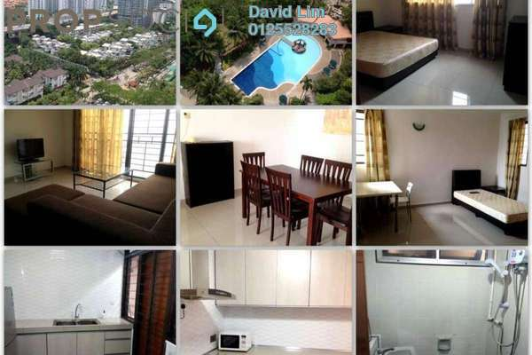 For Rent Condominium at Vista Kiara, Mont Kiara Freehold Fully Furnished 3R/2B 2.5k