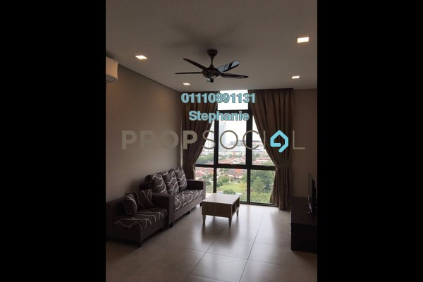 For Rent Condominium at TTDI Ascencia, TTDI Freehold Fully Furnished 0R/1B 2.7k