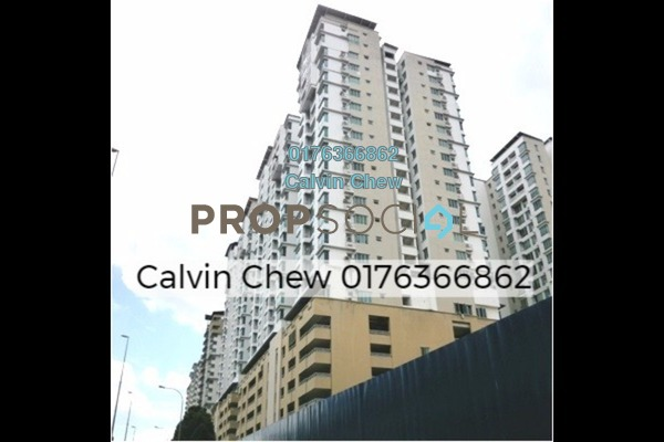 For Sale Serviced Residence at Casa Tiara, Subang Jaya Freehold Unfurnished 3R/2B 450k