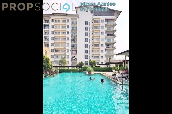 For Sale Condominium at Park Avenue, Damansara Damai Freehold Semi Furnished 3R/2B 350k