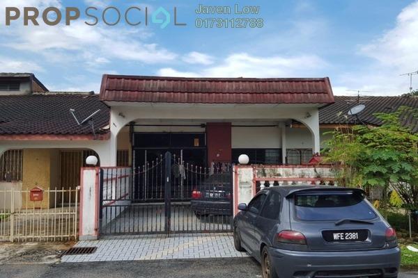For Sale Terrace at Taman Mayang Jaya, Kelana Jaya Freehold Fully Furnished 3R/2B 750k