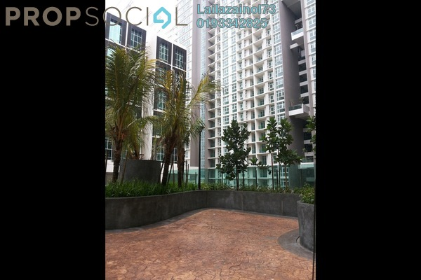 For Rent Apartment at Mutiara Ville, Cyberjaya Freehold Semi Furnished 0R/1B 1.4k