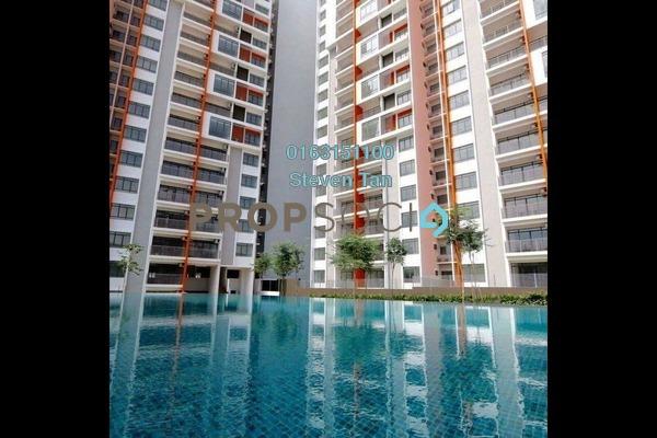 For Sale Condominium at Ameera Residence, Kajang Freehold Semi Furnished 3R/2B 430k