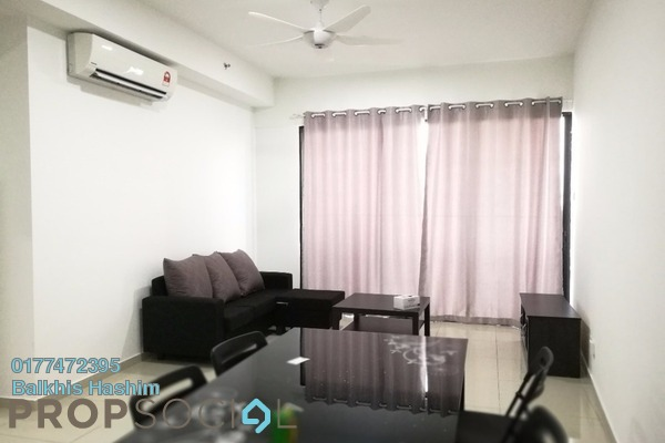 For Rent Condominium at i-Residence @ i-City, Shah Alam Freehold Fully Furnished 2R/2B 1.8k