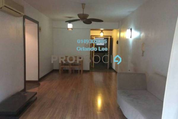 For Rent Apartment at Paradesa Rustica, Bandar Sri Damansara Freehold Semi Furnished 3R/2B 1.4k