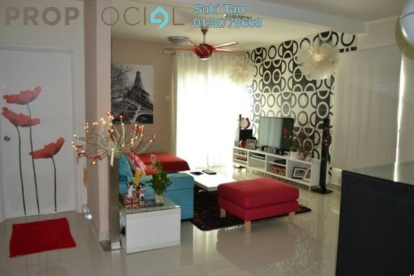 For Sale Condominium at Alam Puri, Jalan Ipoh Freehold Semi Furnished 3R/1B 550k