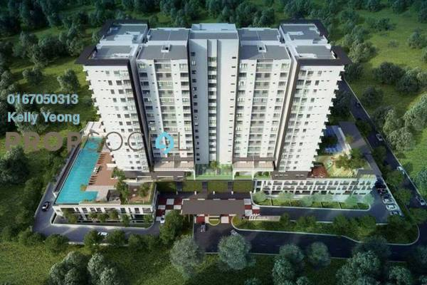 For Sale Condominium at Iris Residence, Bandar Sungai Long Freehold Unfurnished 3R/2B 481k