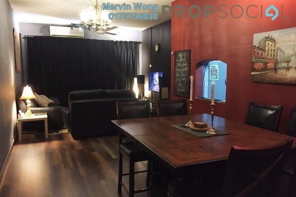 For Sale Condominium at De Rozelle, Kota Damansara Freehold Fully Furnished 3R/2B 520k