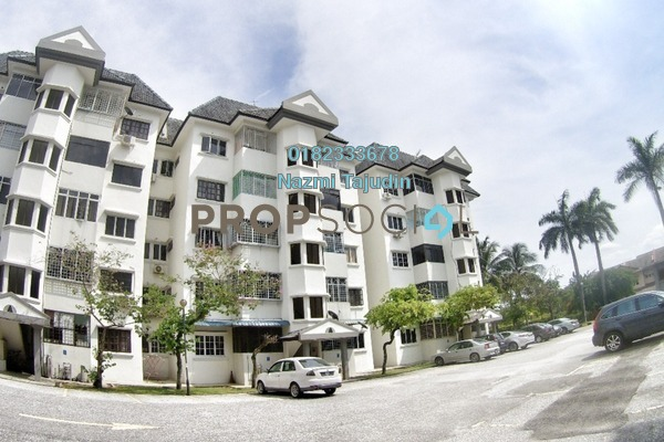 For Rent Apartment at Sri Tanjung Apartment, Bandar Puchong Jaya Freehold Fully Furnished 3R/2B 1.2k