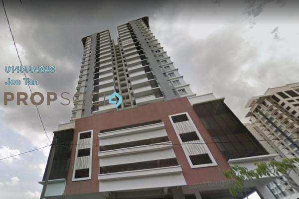 For Rent Condominium at Vistaria Residensi, Cheras Freehold Semi Furnished 3R/2B 2k