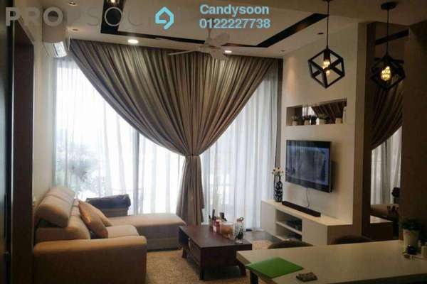 For Sale Condominium at Twin Arkz, Bukit Jalil Freehold Semi Furnished 1R/1B 699k