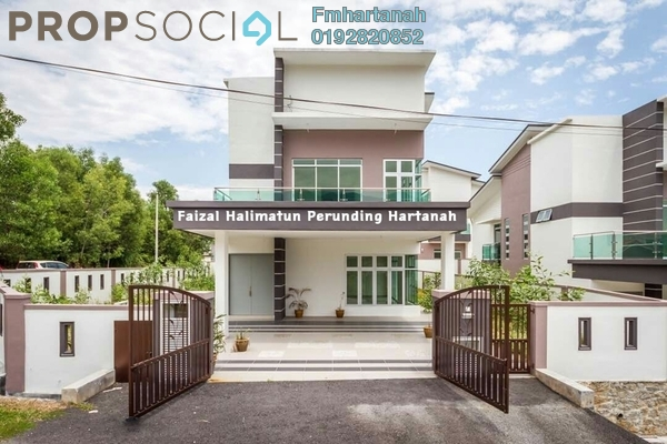 For Sale Bungalow at Lavender Heights, Senawang Freehold Unfurnished 7R/5B 1.1m