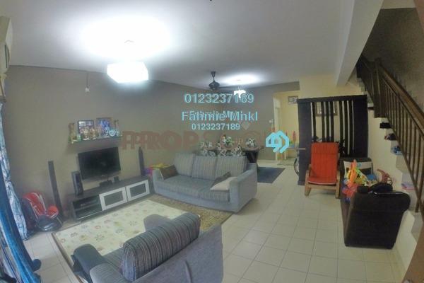 For Sale Terrace at Aspira, Bandar Bukit Raja Freehold Semi Furnished 4R/3B 600k