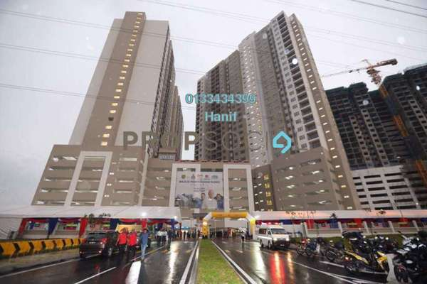 For Rent Apartment at Residensi Pandanmas, Pandan Indah Freehold Semi Furnished 3R/2B 1.4k