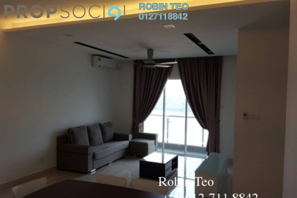 For Rent Condominium at Sky Suites @ Meldrum Hills, Johor Bahru Freehold Fully Furnished 3R/2B 3k