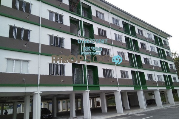 For Sale Condominium at Taman Sri Tanjung, Semenyih Leasehold Fully Furnished 3R/2B 195k