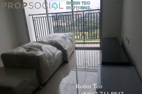 For Rent Serviced Residence at The Aliff Residences, Johor Bahru Leasehold Fully Furnished 2R/2B 1.6k