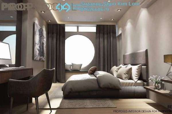 For Rent Condominium at Park View, KLCC Freehold Fully Furnished 1R/1B 2.8k